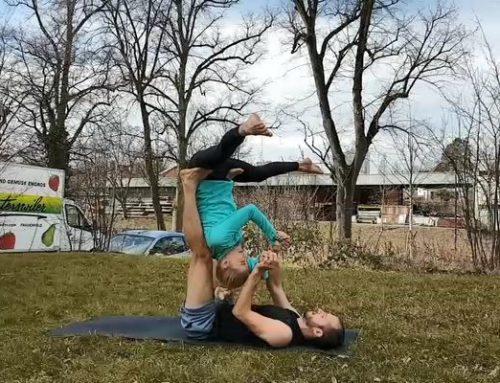 Acro Yoga – Seitlicher Einstieg üben